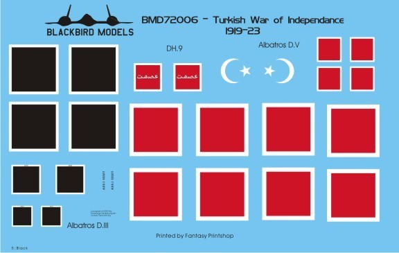 Blackbird Models Turkish War of Independence BMD72006