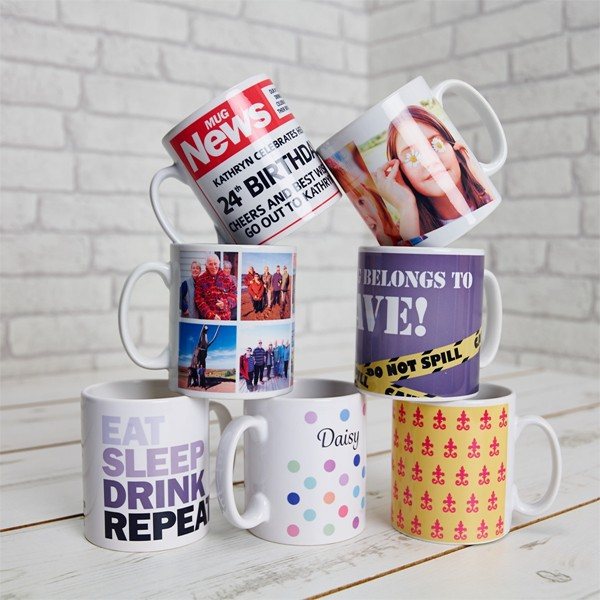 Personalised Printed mugs to order