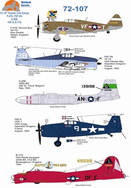 Wolfpak 72-107 Thunder Over Europe