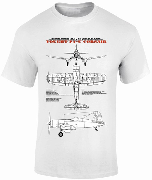 Fantasy Printshop Blue prints T shirt Vought Corsair