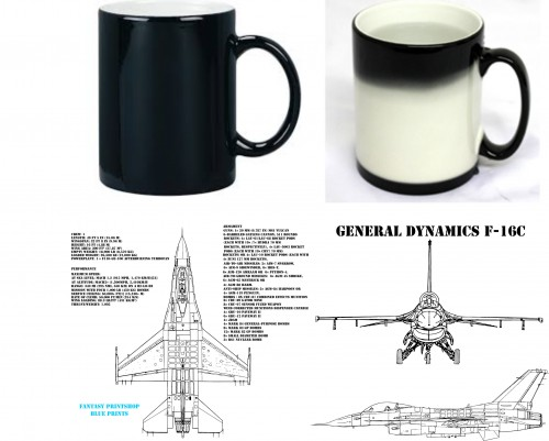 Fantasy Printshop mug print FPM 201 F15C Eagle