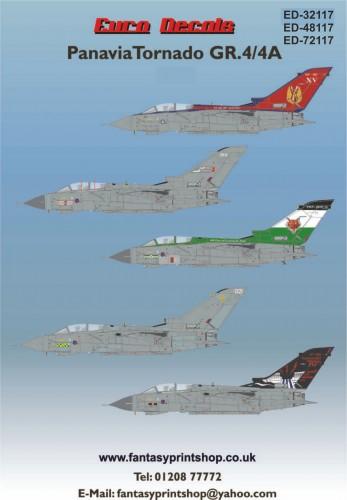 Euro Decals Panavia Tornado GR.4-4A