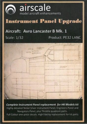 Airscale Avro lancaster decals AS32LANC