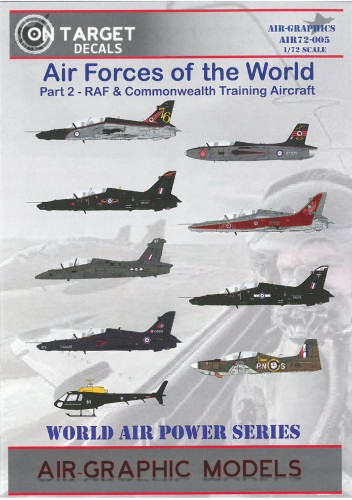 airgraphic 72-005 air forces of the world part 2 RAF and commonwealth training aircraft
