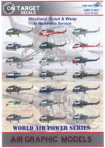 Air Graphics Westland Scout & Wasp Collection