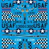 ED72-124 McDonnell Douglas F-4C + F-4E Phantoms of the 57th FIS decals Eurodecals