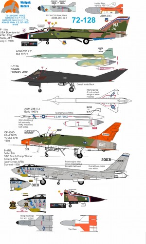 Wolfpak 72-128 Giant Voice Decals