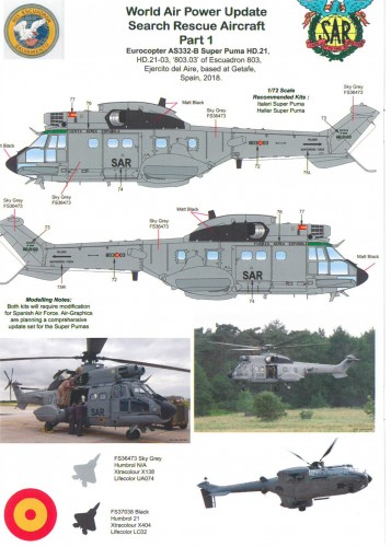 [AIR GRAPHICS MODELS] =Super Marque Anglaise de décals et kits de transformation AIR.72-008-Worldwide-Search-Rescue-Collection-page-9