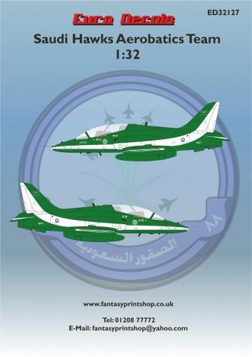ED32127 Saudi Hawks Aerobatics Team