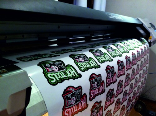Sticker printing roland SP330i