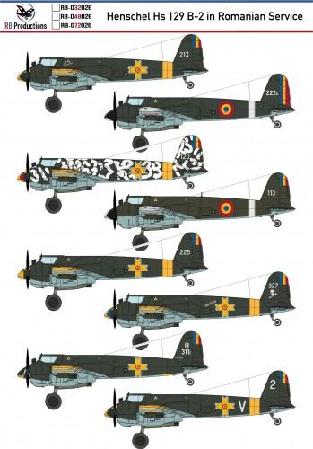 RB-D 72026 Henschel Hs 129 B-2