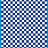 Fantasy Printshop A4 BLUE chequered 10MM squares on white background vinyl stickers FPRC710BL