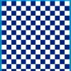 Fantasy Printshop A5 BLUE chequered 10MM squares on white background vinyl stickers FPRC710BL