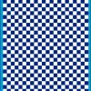 Fantasy Printshop A5 BLUE chequered 6MM squares on white background vinyl stickers FPRC706BL