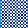 Fantasy Printshop A5 BLUE chequered 8MM squares on white background vinyl stickers FPRC708BL