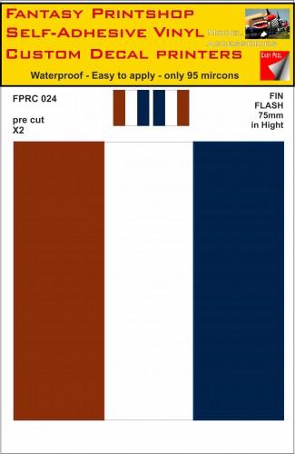 RC Stickers fin flash ww11 decals fantasy printshop