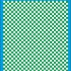 Fantasy Printshop A4 GREEN chequered 6MM squares on white background vinyl stickers FPRC706G
