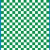 Fantasy Printshop A5 GREEN chequered 8MM squares on white background vinyl stickers FPRC708G