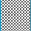 Fantasy Printshop A4 GREY chequered 10MM squares on white background vinyl stickers FPRC710GR