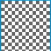 Fantasy Printshop A5 GREY chequered 10MM squares on white background vinyl stickers FPRC710GR
