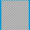 Fantasy Printshop A4 GREY chequered 6MM squares on white background vinyl stickers FPRC706GR