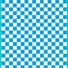 Fantasy Printshop A5 PROCESS BLUE chequered 8MM squares on white background vinyl stickers FPRC708PB