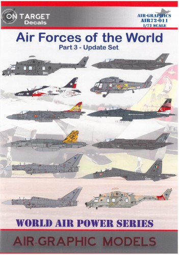 Airgraphics air forces of the world part 4 72-011