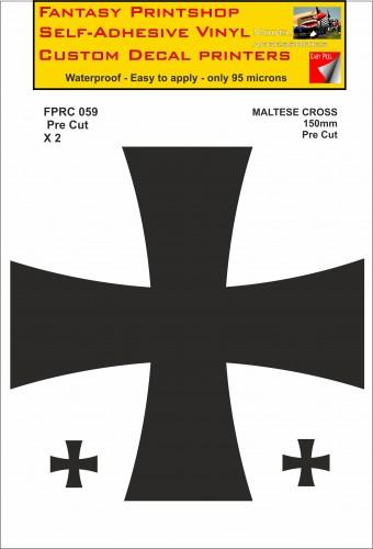 FPRC059 Maltese Cross 150mm